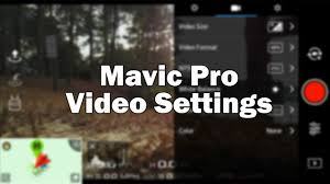 Bright Color Setting Best Settings Video Color Dji Mavic Pro Youtube
