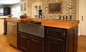 wooden kitchen islands awesome oak wood kitchen island counter in bryn mawr pennsylvania