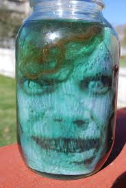 head in a jar illusion illusions halloween parties and