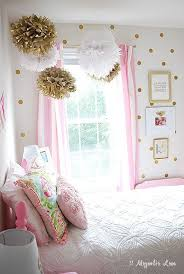 little girls bedroom decor girl s room decorated in pink gold pink white white gold and