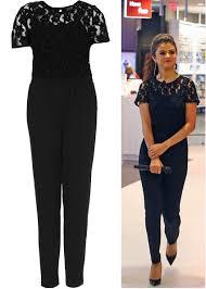 custom jumpsuits 2018 stunning lace jumpsuits black crew neckline