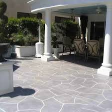 Backyard Concrete Patio Ideas by Best 25 Painted Concrete Patios Ideas Only On Pinterest