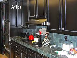 Painted Kitchen Cabinets Before After Kitchen Remodel Painted Cabinets Diy Painted Kitchen Cabinets