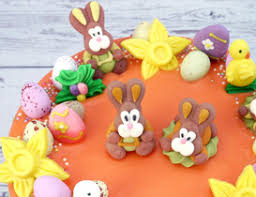 Easter Edible Decorations by Easter Baking And Decorating Cupcakes And Cakes