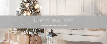 modern display home holiday decor and more rotating banner artificial trees