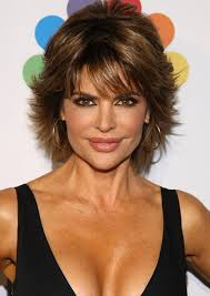 short razor hairstyles popular layered short razor cut from lisa rinna