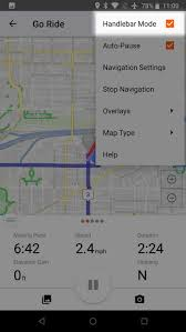 Map My Ride App Manage Settings On Mobile Ride With Gps Help