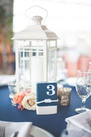 beach wedding lantern centerpieces