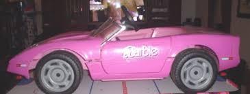 pink corvette power wheels modified power wheels