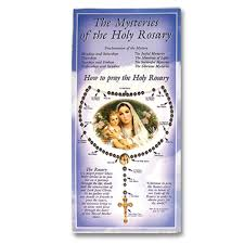 prayer card catholic prayer cards credit card rosaries rosarycard net
