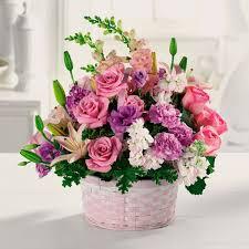 basket of flowers basket of gladness in west new york nj castle of flowers