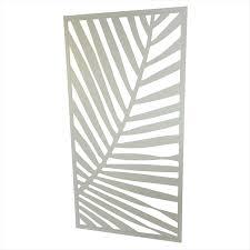 Bunnings Trellis Find Protector Aluminium 1840 X 940mm Palm Deco Screen Surfmist