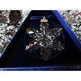 amazon com swarovski 2004 annual christmas snowflake star