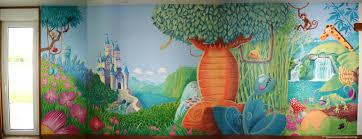 fresque chambre fille fresque murale pour une chambre d enfants ambiance jungle