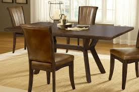 hillsdale grand bay round dining set with dining chair cherry