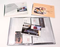 audi a6 owners manual 1999 audi a6 c5 avant wagon owners manual information books