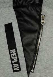 replay tracksuit bottoms grau kids trousers u0026 jeans replay