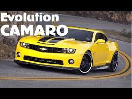 evolution of the chevy camaro chevrolet camaro evolution 1968 2015