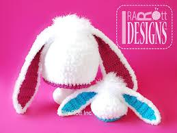 easy crochet bunny hat pattern manet for