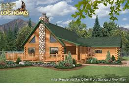 log home floor plans with garage golden eagle log and timber homes floor plan details eagle point