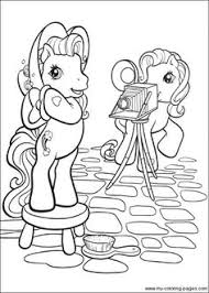 pony coloring pages coloring book nostalgia