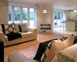 Open Plan Kitchen Living Room Flooring Contemporary Modern Open Plan Kitchen Living Room Home
