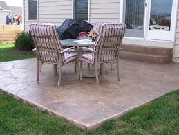 Concrete Patio Design Pictures Poured Concrete Patio Designs