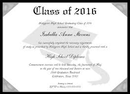 8 best images of sample graduation certificate wording diploma