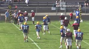greensburg central catholic football derry scrimmage highlight