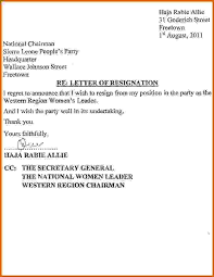 resignation letter due to family problemimmediate resignation