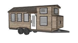 Cabin Blueprints Floor Plans Ana White Free Tiny House Plans Quartz Model With Bathroom