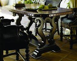 Dark Dining Room Exterior Elegant Upholstered Dining Chairs By Tommy Bahama