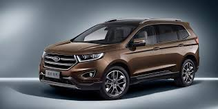 ford crossover 2016 2018 ford edge australian pricing and details revealed photos 1