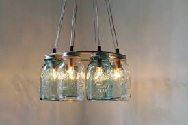 Lighting Fixtures For Home Interior Rustic Lighting Fixtures For Log Homes With Glass Jar
