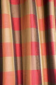 amazon com ds olive green u0026 red buffalo checks faux silk fabric