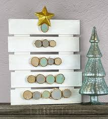christmas tree pallet wooden christmas tree pallet project by decoart