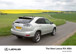 lexus uk standard warranty the lexus rx 400h lexus uk media site