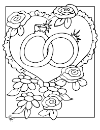 wedding coloring pages print chuckbutt