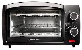 Black And Decker Spacemaker Toaster Oven Chefman 4 Slice Toaster Oven Black Contemporary Toaster Ovens