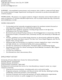 Job Based Resume by Project Based Resume Contegri Com