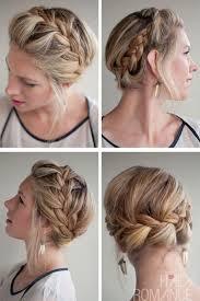 plait hairstyles for short hair short hair braided hairstyles worldbizdata com