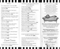 brandmerk center u2013 full beauty salon u2013 prices list