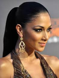 pictures of black ponytail hairstyles 2013