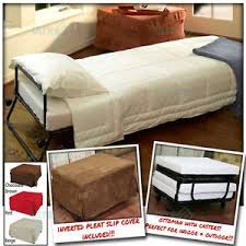 Folding Bed Ottoman Ottoman Folding Bed Convertible Sofa With Inverted Pleat Slip