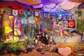 Hippie Home Decor Likes  Comments Hippie Vibes On Boho Hippie - Hippie bedroom ideas