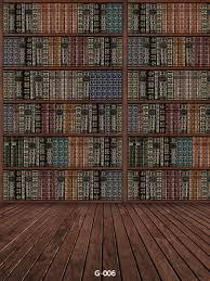 Bookshelf Background Image 5x7ft Thin Vinyl Photography Backgrounds Bookcase Backdrop For