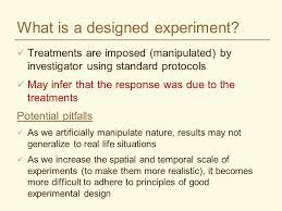 good experimental design experimental design in agriculture crop 590 winter ppt video
