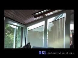 Blinds For Angled Windows - bottom up angled roller shade demo youtube