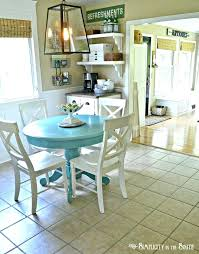 gray chalk paint kitchen table white diy subscribed me kitchen