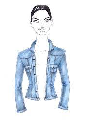 draw denim for fashion sketches illustration pinterest